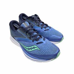 SAUCONY   Kinvara 9 Shoes   Blue/Green   Size 9.5